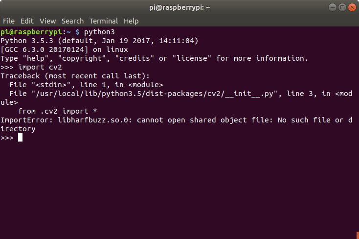 python cv2 install